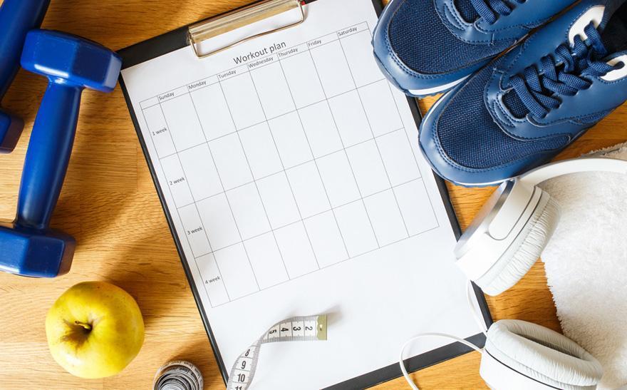 lista planu treningowego